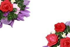 Frontera de Rose Imagen de archivo