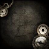 Frontera de Steampunk borrosa Imagen de archivo libre de regalías