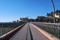 Ventimiglia, Liguria, Italia fotografía de archivo
