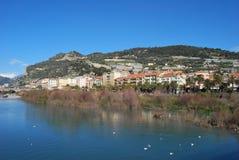 Ventimiglia, Liguria, Italia imagen de archivo