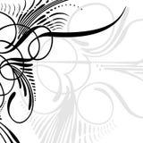 Frontera decorativa Imagen de archivo libre de regalías