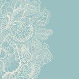 Frontera decorativa del elemento Tarjeta abstracta de la invitación Wa de la plantilla Fotos de archivo libres de regalías