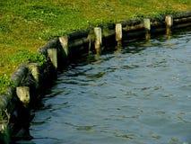 Frontera del agua Imagen de archivo libre de regalías