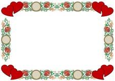 Frontera del amor Imágenes de archivo libres de regalías