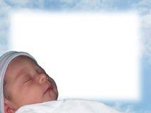Frontera del bebé Foto de archivo