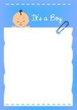 Frontera del bebé Imágenes de archivo libres de regalías