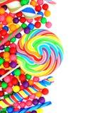 Frontera del caramelo Fotografía de archivo