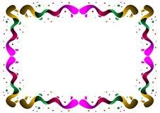 Frontera del color stock de ilustración
