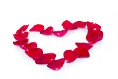 Frontera del corazón de las tarjetas del día de San Valentín sobre blanco Imágenes de archivo libres de regalías