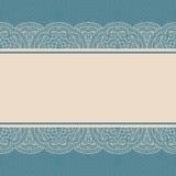 Frontera del cordón del vintage, fondo inconsútil libre illustration