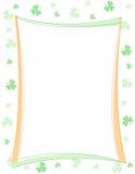 Frontera del día del St. Patrick stock de ilustración