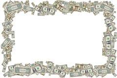 Frontera del dinero imagen de archivo libre de regalías