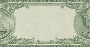 Frontera del dinero Fotografía de archivo