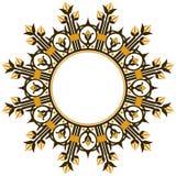 Frontera del elemento del diseño del art déco Imagen de archivo libre de regalías