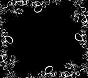Frontera del follaje ilustración del vector