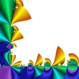 Frontera del fractal Imagenes de archivo