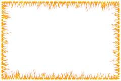 Frontera del fuego Imágenes de archivo libres de regalías