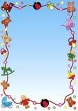 Frontera del juguete Foto de archivo libre de regalías