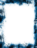 Frontera del marco de Grunge ilustración del vector