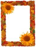 Frontera del otoño Imágenes de archivo libres de regalías