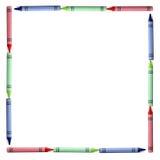Frontera del RGB Imagen de archivo