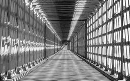 Frontera en blanco y negro - detalle imagen de archivo