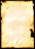 Frontera envejecida Imagen de archivo libre de regalías