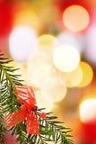 Frontera festiva de la Navidad Fotografía de archivo libre de regalías