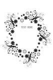 Frontera floral imagen de archivo libre de regalías