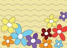 Frontera floral. Imagen de archivo libre de regalías