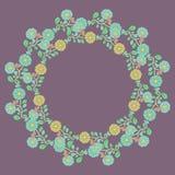 Frontera floral libre illustration