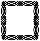 Frontera geométrica céltica Foto de archivo libre de regalías