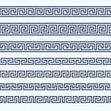 Frontera griega del modelo - ornamento griego ilustración del vector
