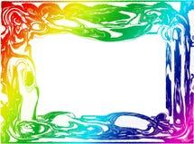 Frontera/marco coloridos Foto de archivo
