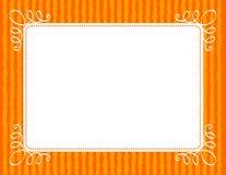 Frontera/marco de la invitación Fotos de archivo