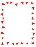 Frontera/marco del sombrero de Santa