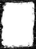 Frontera negra de Grunged ilustración del vector