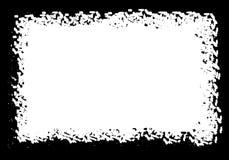 Frontera o marco del Grunge borde de la foto del grunge ilustración del vector