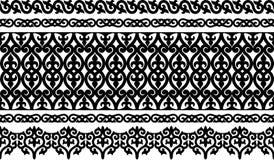 Frontera ornamental Foto de archivo