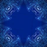 Frontera ornamental floral del círculo abstracto del vector libre illustration