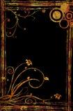 Frontera oxidada Imágenes de archivo libres de regalías