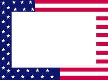 Frontera patriótica Imagen de archivo