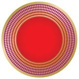 Frontera redonda elegante ilustración del vector