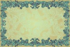 Frontera rizada Imagen de archivo