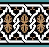 Frontera siete de Zagora Marruecos ilustración del vector