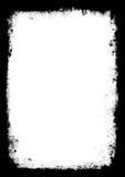 Frontera vectorizada de Grunge Foto de archivo