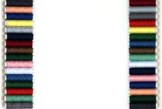 Fronteras coloridas Imagen de archivo libre de regalías