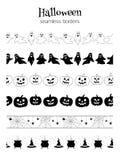Fronteras de Halloween Fotos de archivo