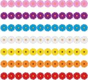 Fronteras de la flor Imagen de archivo