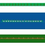 Fronteras de la Navidad ilustración del vector